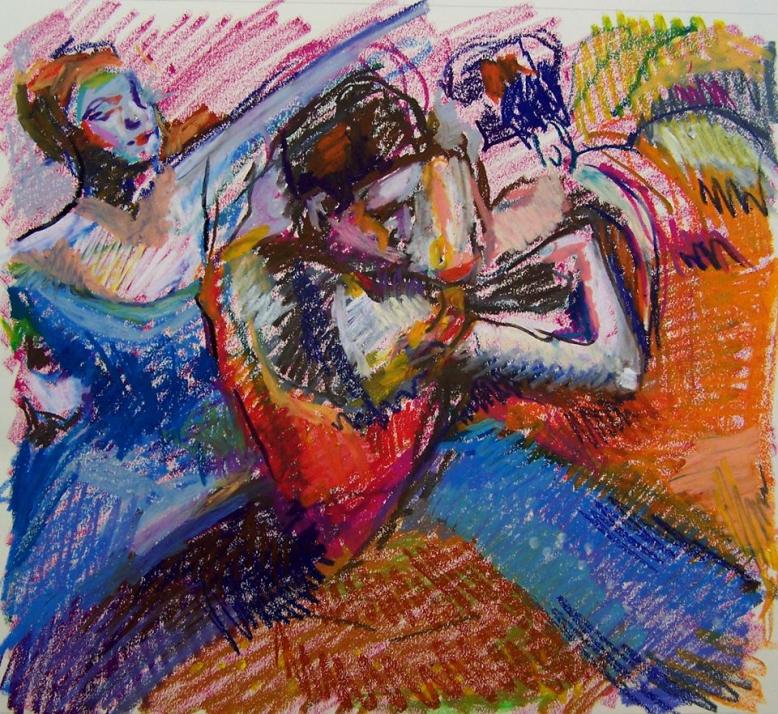 Figurální kresba suchým pastelem - Kurz techniky malby