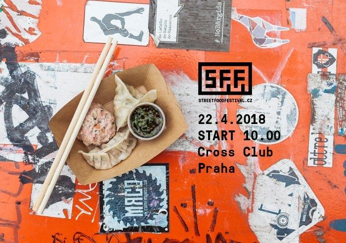 Street Food Festival - Holešovice - jaro 2018