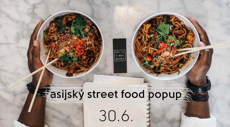 Asijský street food popup
