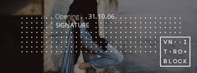 Vnitroblock / Signature store & cafe | opening