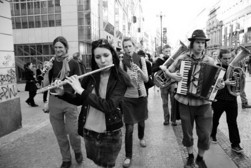 Svátek Hudby - pouliční slavnost