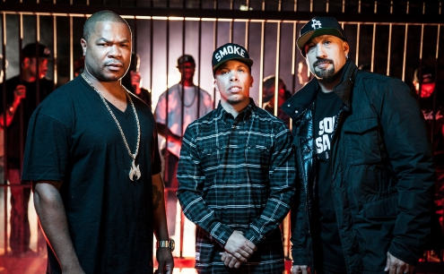 Xzibit, B-Real (Cypress Hill), Demrick live in Prague