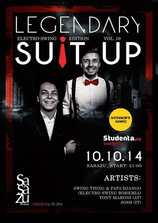 Suit Up vol.10 feat. Swing Thing & Papa Django