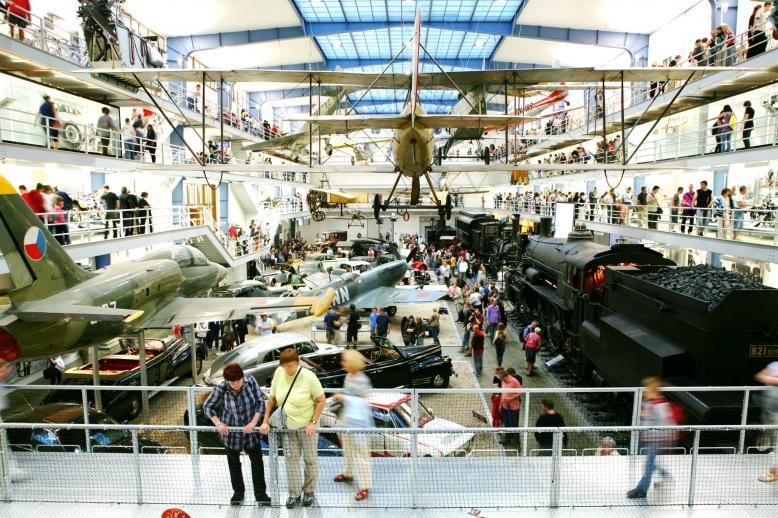 Den vstupného zdarma do Národního technického muzea