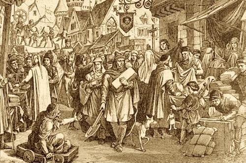 Středověké profese