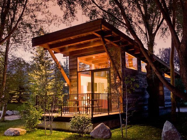 Jak si vytvořit dosažitelný domov v přírodě