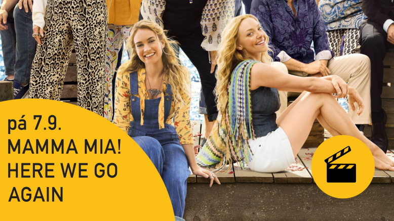 Film Mamma Mia! Here We Go Again