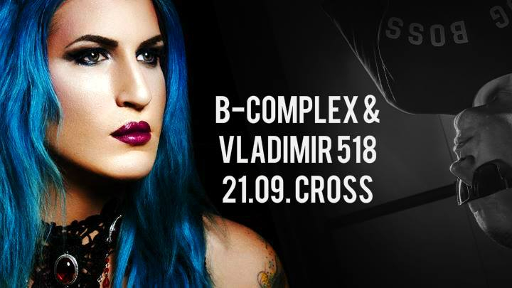 Radical Cross - B-Complex & Vladimir 518 in dnb