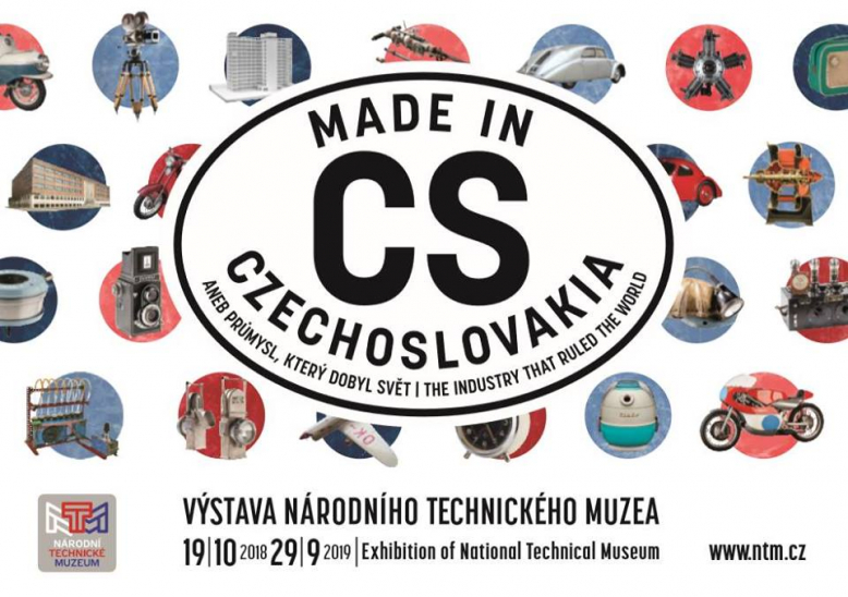 Výstava Made in Czechoslovakia aneb průmysl, který dobyl svět
