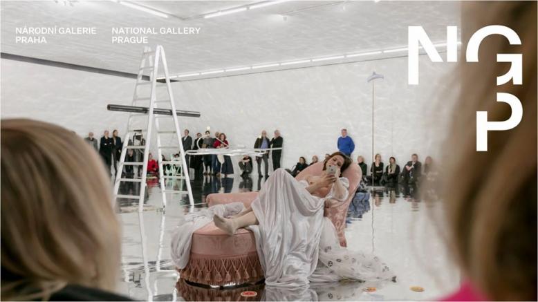 NGP ― Alberto Giacometti   Performance Sophie Jung