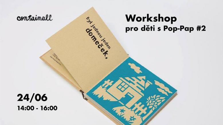 Workshop pro děti s Pop-Pap #2