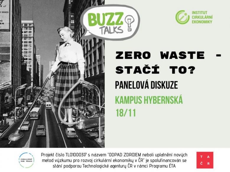 BUZZ Talks: Zero waste - stačí to?