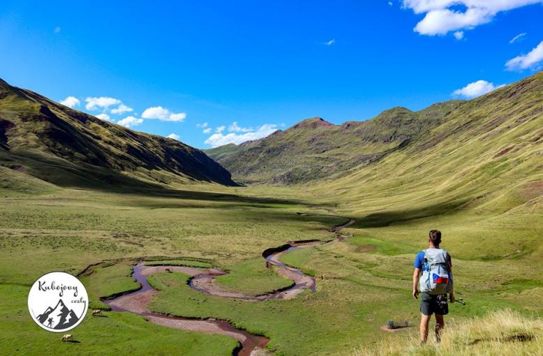840 km sám pěšky přes Pyreneje