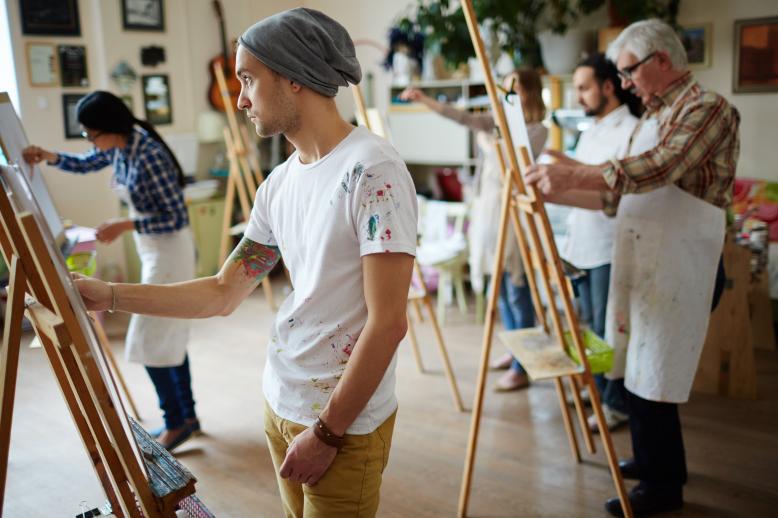 Kurz kresby a malby pro začátečníky i pokročilé