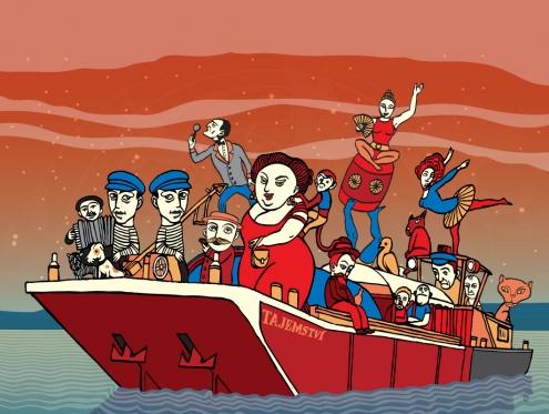 Swing na lodi tajemství