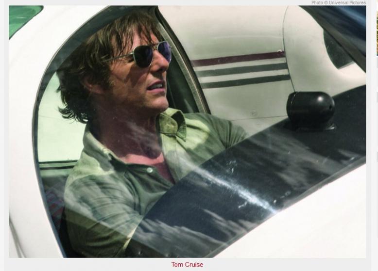 Letní kino: Barry Seal - Nebeský gauner