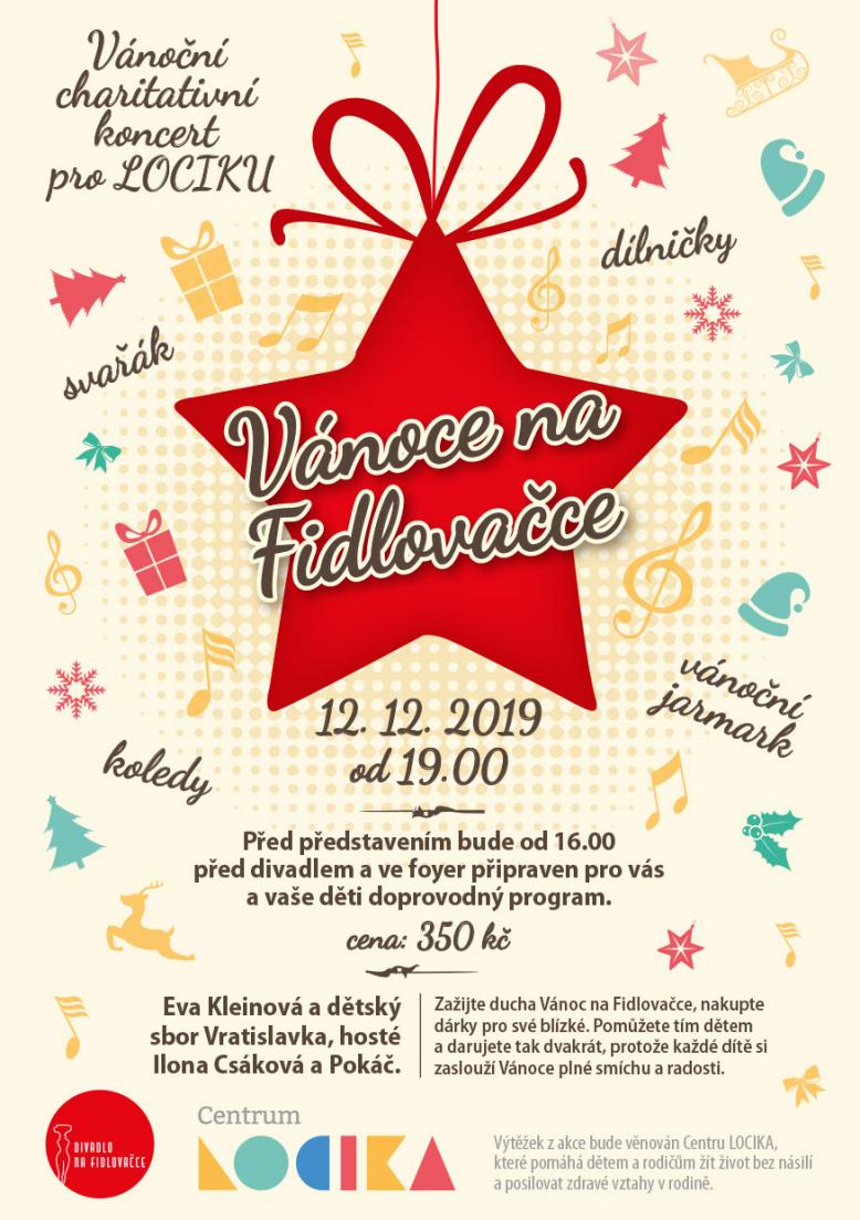 Vánoční charitativní koncert pro Lociku