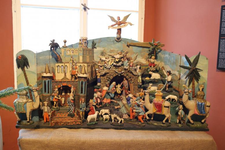 Historie vánoční hudby: Tradiční výstava betlémů