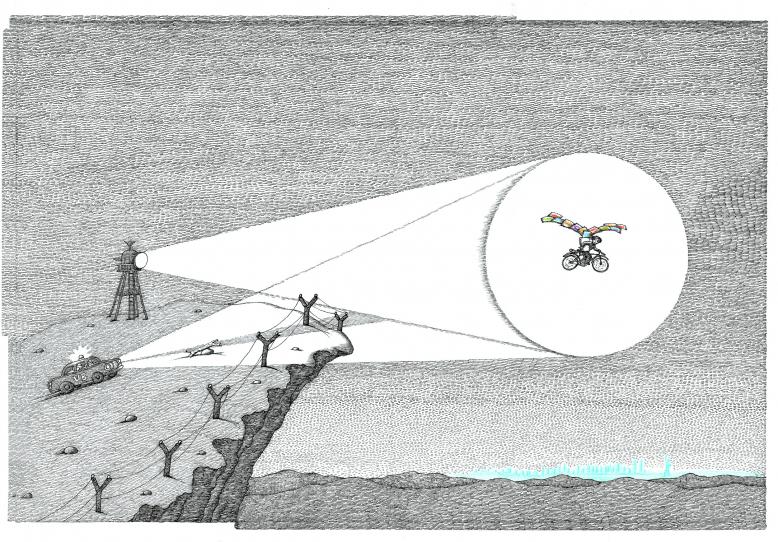 Petr Sís: O létání a jiných snech