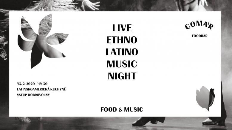 COMA'R_ Music&Food - Latino Night with Música Étnica