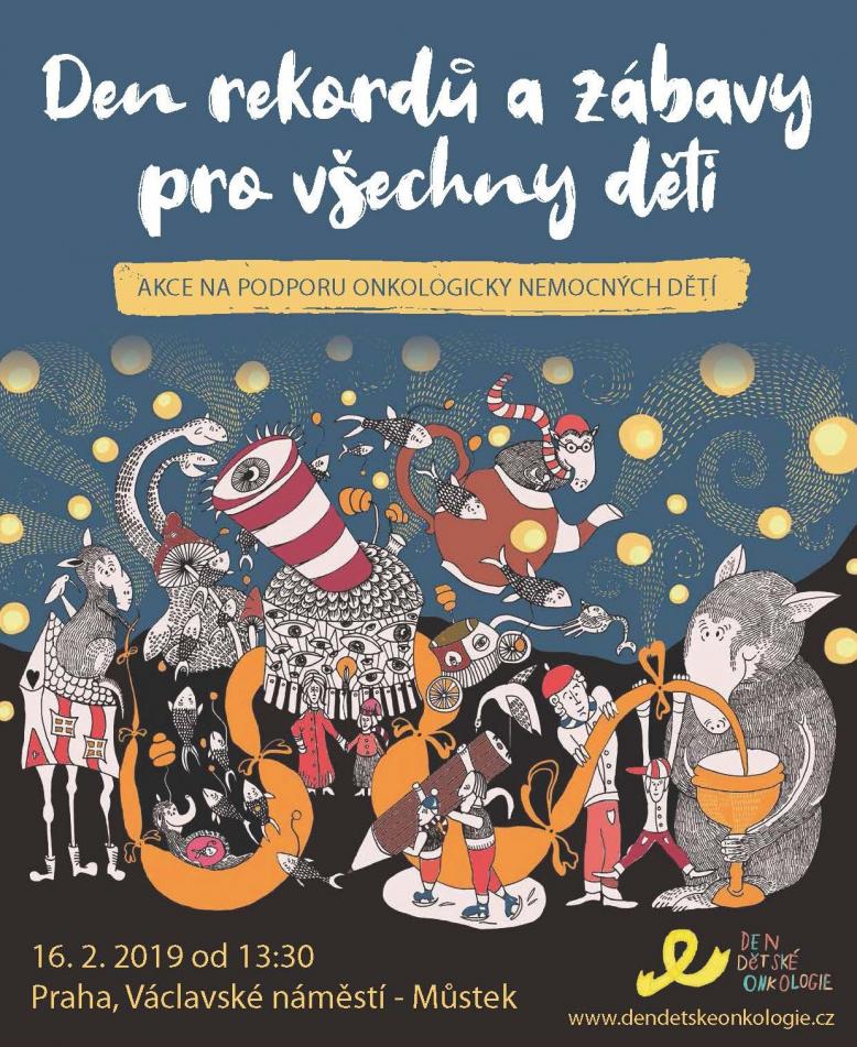 Den rekordů a zábavy pro všechny děti na Václaváku