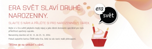 Slavíme druhé narozeniny!