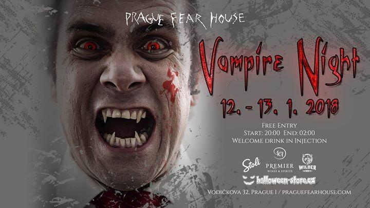Vampire Night by Prague Fear House