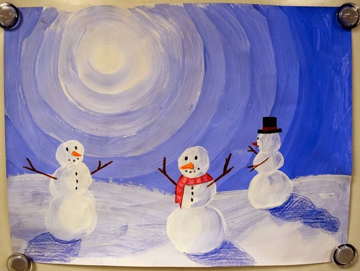 Divadlo pro děti v Crossu: Tři sněhuláci