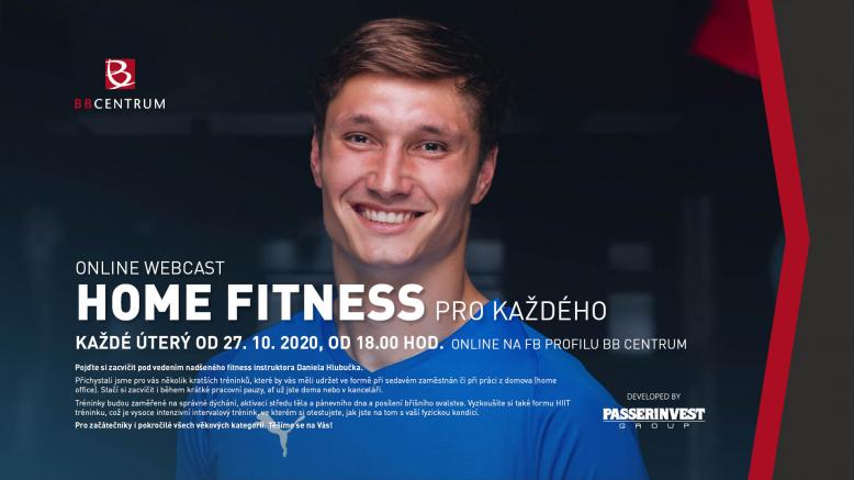 ONLINE: Home Fitness pro každého