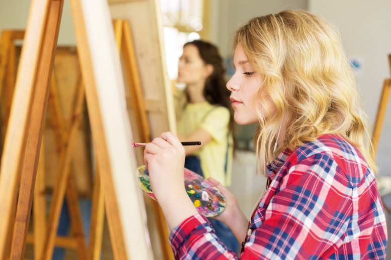 Zápis do výtvarných kurzů ateliéru Malování a kreslení
