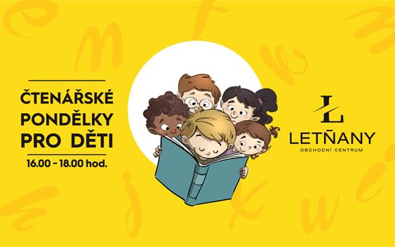 Čtenářské pondělky pro děti