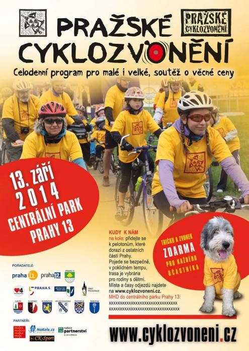 Pražské cyklozvonění 2014