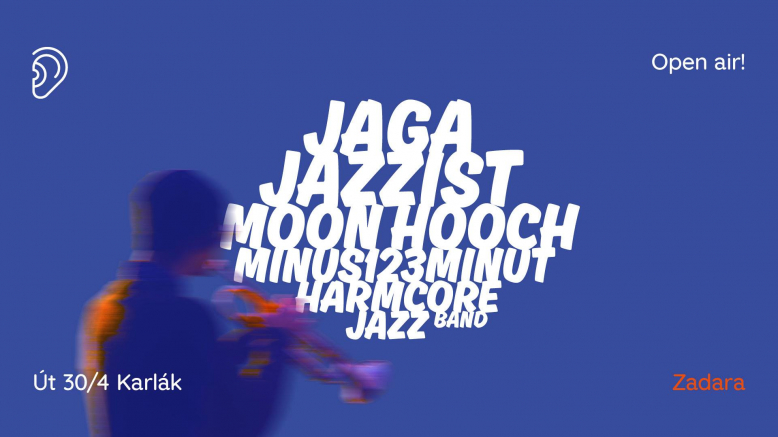 OPEN AIR: Jaga Jazzist, Moon Hooch, minus123minut, HarmCore Jazz Band