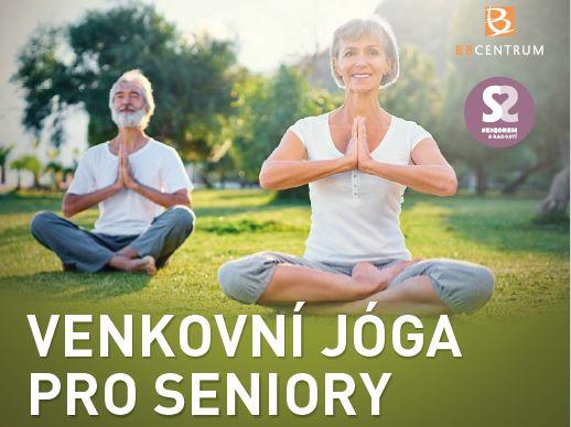 Venkovní jóga pro seniory