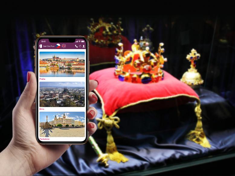 Venkovní úniková hra: Po stopách korunovačních klenotů