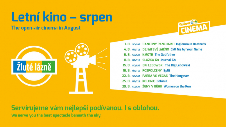 Letní kino Yellow Cinema