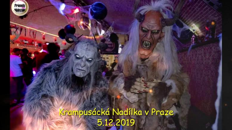 Krampusáci opět v Praze