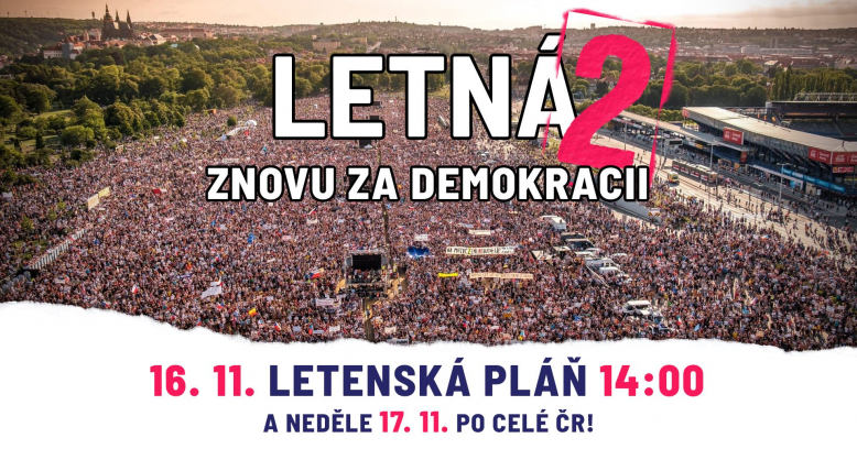 LETNÁ 2 - znovu za demokracii!