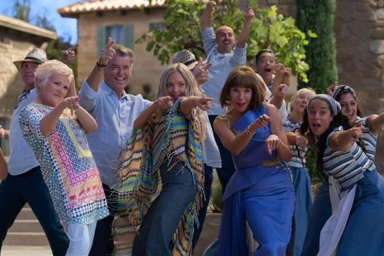 Mamma Mia! Here We Go Again - premiérový víkend