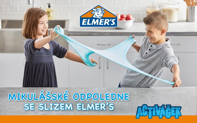 Mikulášské odpoledne se slizem Elmer's
