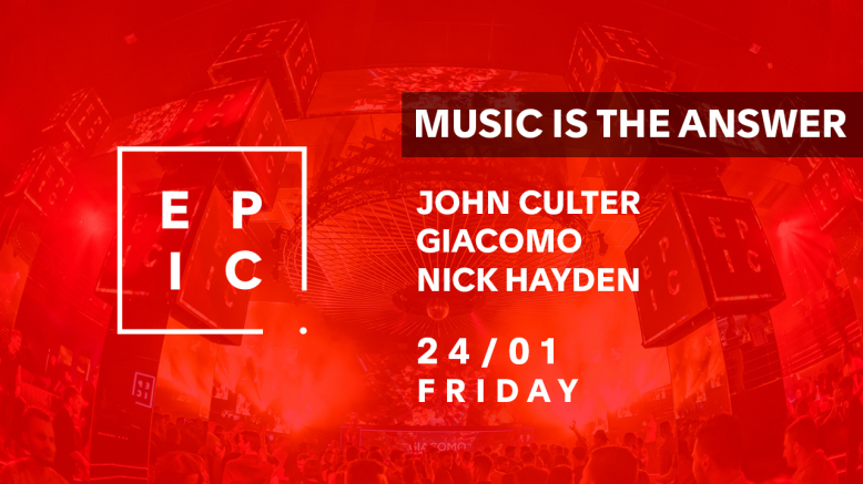 MUSIC IS THE ANSWER @ EPIC