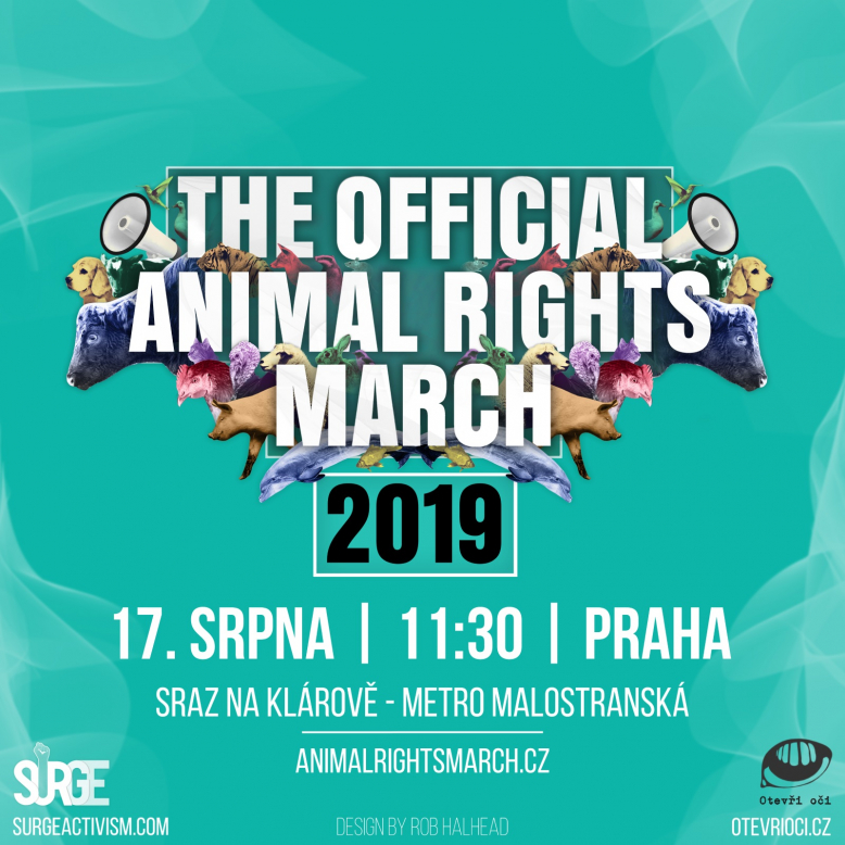 The Official Animal Rights March in Prague