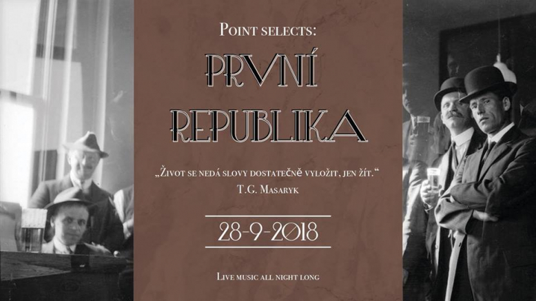 Point selects: První republika