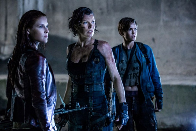 Resident Evil: Poslední kapitola - Premiérový víkend