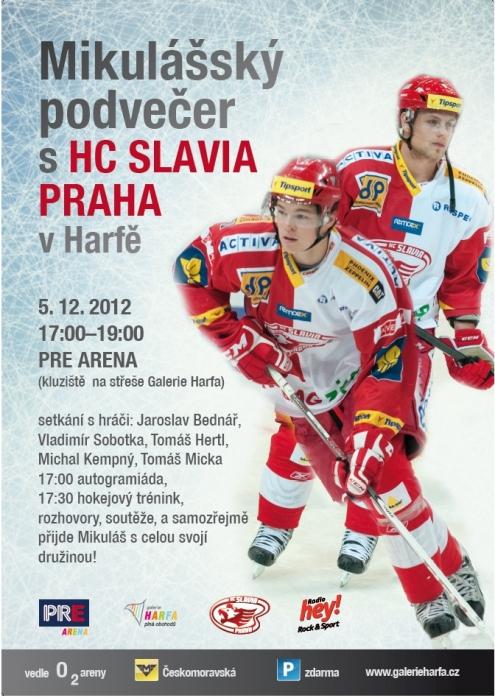 Mikulášký podvečer s HC Slavia Praha
