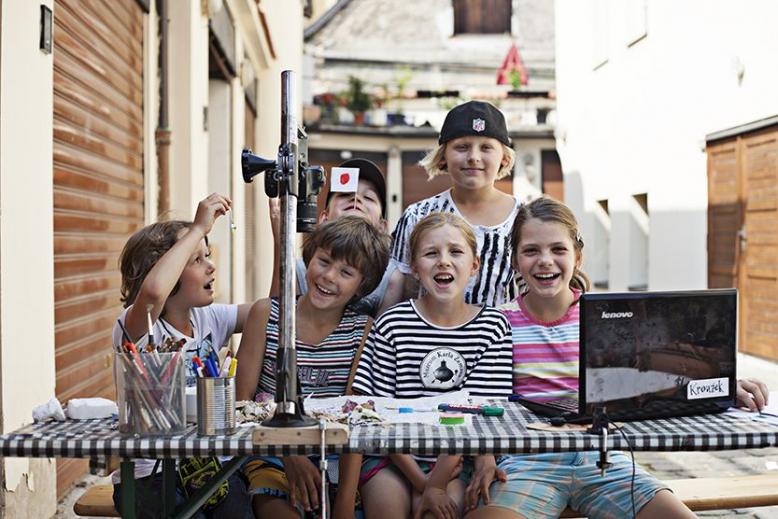 Letní příměstský filmový tábor Muzea Karla Zemana