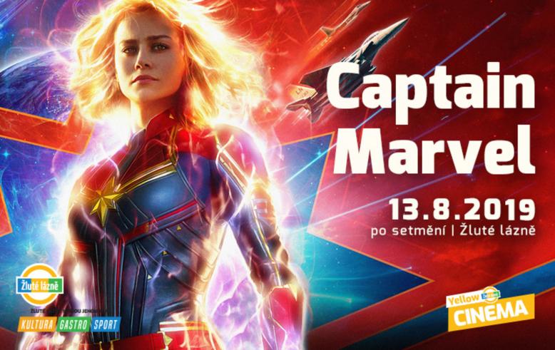 Letní kino Yellow Cinema - Captain Marvel
