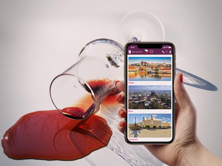 Venkovní úniková hra: Tour de Wine - Po kapkách zločinu