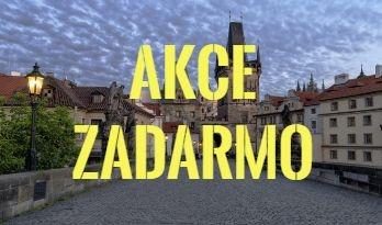 Akce zadarmo v Praze