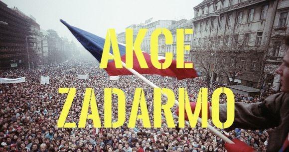 Akce v Praze zadarmo